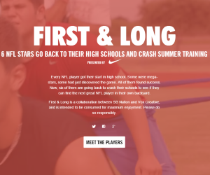 First and Long by SB Nation for Nike