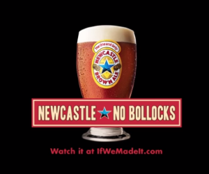 Not a Super Bowl commercial by Gawker for Newcastle