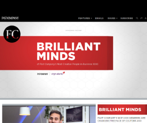 Brilliant Minds by Fast Company for Virgin Atlantic